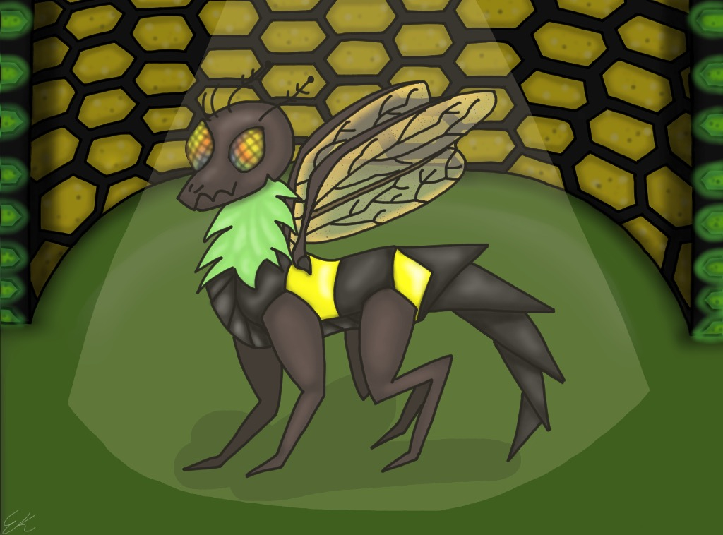 Art: Dragon of the Month –Wasp