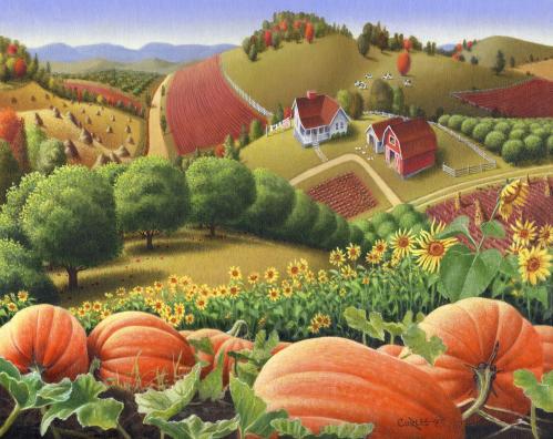 A Pumpkin's Version ofHalloween